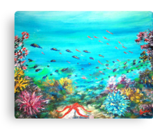 DEEP END OF THE SEA  Canvas Print