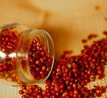 Hot and chilly peppercorns by Patrizia  Corriero