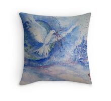 The Gift of Sharing Throw Pillow