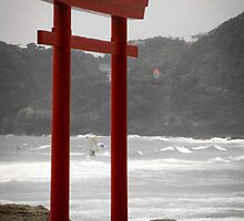 Shimoda Windsurfers by Chad M