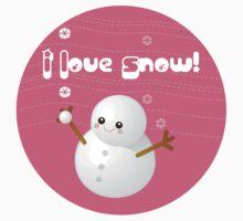 I Love Snow Kids Clothes