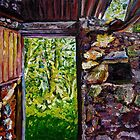 """Ruined Barn Interior, Braid Valley, County Antrim""  by Laura Butler"