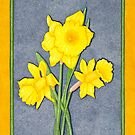 Daffodil Glory by Judy Newcomb