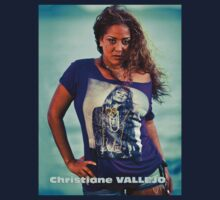 T-SHIRT CHRISTIANE VALLEJO by klodcabit