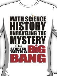 The Big Bang Theory - Light coloured shirts T-Shirt
