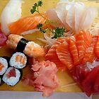 sushi and sashimi by supergold