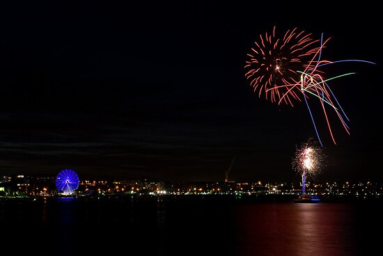 Lighting Up Geelong by paulmcardle