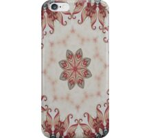Baroque style red iPhone Case/Skin