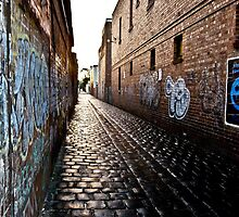 Laneway by Russell Charters