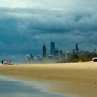 Moody Coastline. by keith55g