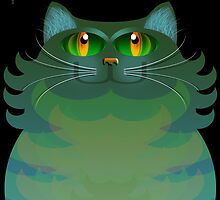 SALLY CAT by peter chebatte