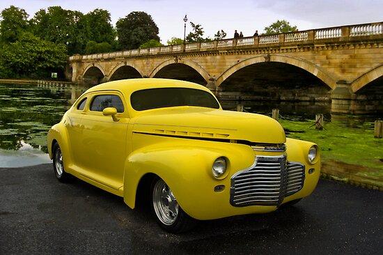 "1941 Chevrolet Custom ""The Yellow Submarine"" by TeeMack"