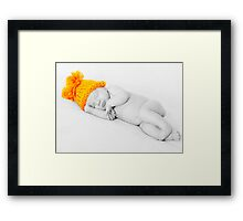 ... and I in My Cap (Series) Framed Print