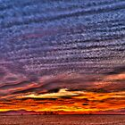Ripples of  Sunset by Greg Summers