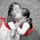 Kissyface (Selective Color) by Marcelle Raphael / Southern Belle Studios