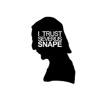 I trust Severus Snape - Iphone Case by Kate Bloomfield