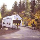 Rochester Covered Bridge by Karen Ilari