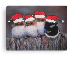 """Merry Christmas!"" Canvas Print"
