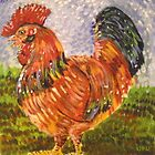 The Rooster by Kay Hale