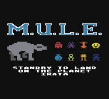 The Multiple Use Labor Element, or M.U.L.E. by LurkingGrue