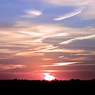 A Wispy Sunset by Sharon Woerner