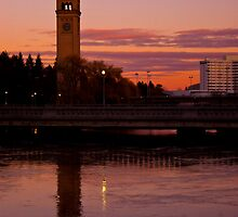 Late Day, Riverfront Park, Spokane, WA by Harv Churchill