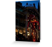 Haunted Mansion, Disneyland Greeting Card
