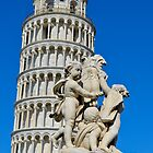 Pisa Tower & Statue by davefozz