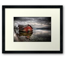 Life On The Lake Framed Print