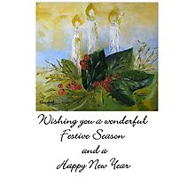 A Card for Christmas Photographic Print
