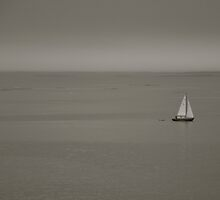 lonely sailor by Jari Hudd