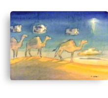 the three wise coobs Canvas Print