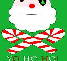 santa jolly roger yo ho ho by dedmanshootn