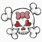 Girly Skull 2 by sensameleon
