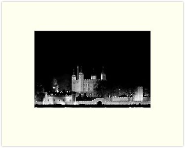 Tower of London at night by Gary Rayner
