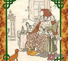 Kris Kringle's Kitty II by redqueenself