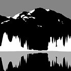 Mountain silhouette V2 by astr0nomer