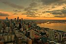 Seattle Sunset by Dan Mihai