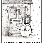 Fat Penguin Drops By With An Xmas Gift! by afatpenguinshop