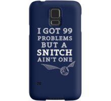 99 Problems But A Snitch Ain't One - Blue Samsung Galaxy Case/Skin