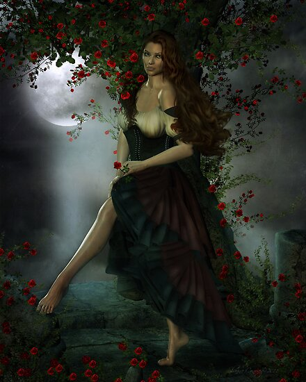 They Call Me the Wild Rose by Shanina Conway