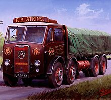 Mike Jeffries classic lorries by Mike Jeffries