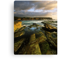 """Cliff to Cliff"" ∞ Little Bay, NSW - Australia Canvas Print"