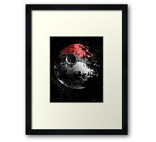 Poked to Death Poster Framed Print