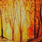 Autumn Woods iPhone case by Ruth S Harris