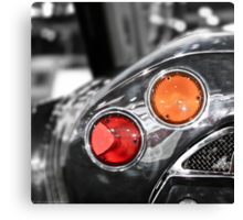 Some Color Included - Spyker C8 Tail Light Canvas Print