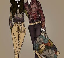 Dollhouse Couple by annabours