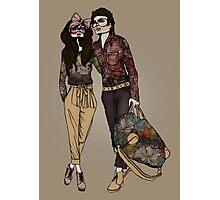 Dollhouse Couple Photographic Print