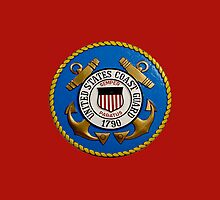 US Coast Guard - iPhone Case by Buckwhite