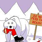 Santa's Naughty List Card by rocamiadesign